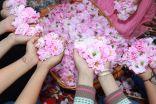 حديقة الفيصلية تستضيف الحملة الإعلامية الرابعة لمهرجان الورد 14