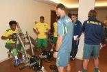 رئيس النادي يصل إلى معسكر فنربخشة وسانتوس ينتظم في تدريبات الدانة