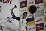 """الدراج السعودي """"المعيني"""" يحقق المركز الثالث في بطولة قطر للدراجات النارية"""