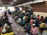 برّ بلجرشي يقدم 1500 وجبة للصائمين يومياً .. في جوامع المحافظة