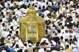 """"""" مقام إبراهيم """" .. حجر قام عليه نبي الله إبراهيم عند بناء الكعبة المشرفة"""