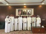 محافظ بني حسن يستقبل رئيس وأعضاء المجلس البلدي بالمحافظة