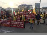 المعارضة الإيرانية تنظم مسيرات احتجاجية حاشدة في لندن ضد عمليات الإعدام في إيران
