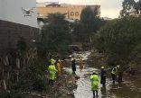 مدني عسير يعثر على جثة المقيم الذي جرفته السيول قبل 6 أيام بأبها
