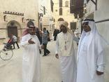 وفد بلدي بني حسن بمنطقة الباحة يزور جدة التاريخية
