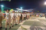 مخيم كشفي وعروض للكشافة في مهرجان الزيتون بالجوف