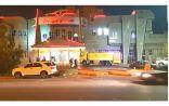 سقوط مقذوفات على مجمع تجاري في نجران ووجود ضحايا