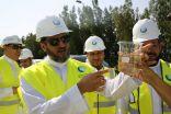 الرئيس التنفيذي لشركة المياه الوطنية يتفقد منظومة مشاريع الخدمات البيئية في جدة