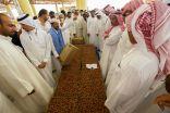 """قطري يظفر بقياسية """"الخلاص"""" في مهرجان تمور الأحساء و""""الشيشي"""" يقتحم البورصة بـ 1950 ريال"""