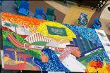 ١٠٠ متطوع يشاركون في لوحة دارنا هي عمارنا