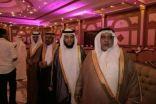 بالصور:  مشايخ  وشخصيات دينية  من دول الخليج  يشرفون زفاف  احمد  بلقاسم البارقي