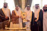 أمير الرياض يستقبل المجزل بطل الدرجة الأولى