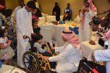 مأدبة إفطار تجمع أطفال مركز الملك عبد الله بن عبد العزيز لرعاية المعوقين بجدة والإعلاميين بفندق هوليداي إن بوابة جدة