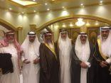البشيري والدوسي يحتفلون بزواج الشاب عبدالله الزهراني