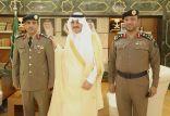 الأمير سعود بن نايف يقلد عدداً من العسكريين رتبهم الجديدة