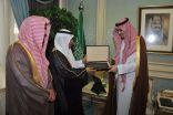 سمو نائب أمير المنطقة الشرقية يستقبل مدير عام التعليم بالمنطقة الشرقية