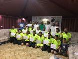 اختتام الدورة التأهيلية لرخصة C بمشاركة عدد من المدربين الوطنيين بالاحساء