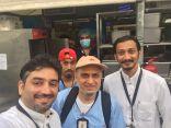 رئيس لجنة التغذية بمؤسسة مطوفي حجاج جنوب آسيا يقوم بزيارة ميدانية مفاجئة لمخيم مشعر منى التابع لمكتب الخدمة رقم ٢٣