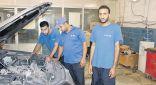 """""""مروعي """"شاب سعودي يثبت وجوده في قطاع ميكانيكا السيارات بصبيا"""