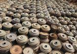 """""""مسام"""" ينتزع 2,018 لغمًا في اليمن خلال الأسبوع الثالث من نوفمبر."""