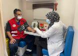 (كن عونا لأصحاب الحالات الحرجة) .. الهلال الأحمر ينظم حملة للتبرع بالدم