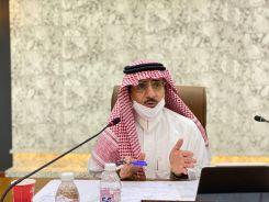 رئيس جامعة الباحة يترأس الاجتماع الثاني للجنة وضع خطط العودة الآمنة