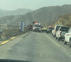 إصابة خطيرة .. في حادث سير بمنطقة الباحة