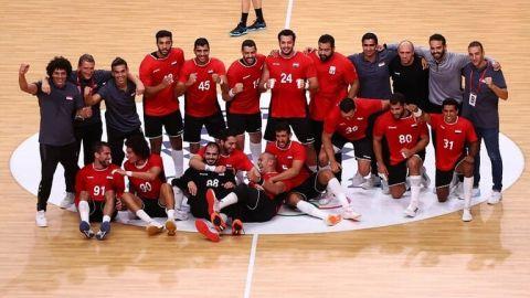 المنتخب المصري لكرة اليد  يتأهل إلى الدور قبل النهائي