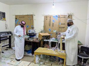 ضبط شقة سكنية بجدة تزوّر ماركات الملابس