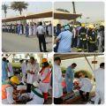 في تجربة فرضية بمشاركة 9 جهات 4 وفيات و 26 مصابا بمستشفى الأمل بجدة