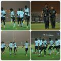 المنتخب الوطني يواصل تدريبات الرياض والبدين يركز على الدفاع في حالة الهجوم