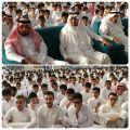 ثانوية علي بن أبي طالب تكرم طلابها المتفوقين