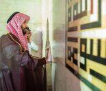 ولي العهد يصلي داخل الكعبة المشرفة ويشارك في غسلها