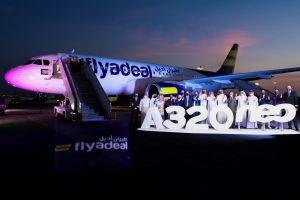 طيران أديل يحتفي باستلام أول طائرة ايرباص مملوكة