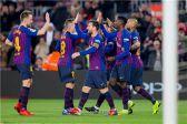 الاتحاد الإسباني يرفض طلب ليفانتي بإقصاء فريق برشلونة من بطولة كأس الملك