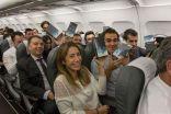 سامسونج تقدّم هدايا جالاكسي نوت 8 لركاب طائرة إيبيريا الاسبانية اعتذاراً عن فشل نوت 7