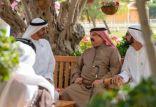 محمد بن راشد ينشر صورة أخوية له مع محمد بن زايد وملك البحرين ويعلق عليها