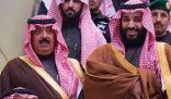الأمير متعب بن عبد الله في مقدمة مستقبلي ولي العهد بنادي الفروسية