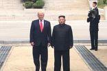 ترامب يلتقي كيم في المنطقة منزوعة السلاح بين الكوريتين
