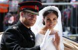 موكب الأمير هارى وميجان ماركل بعد انتهاء مراسم الزفاف