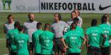 المنتخب الوطني السعودي في اسبانيا يواصل تدريباته استعداد لمواجهة الجزائر وديا