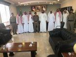 اجتماع بين مدير مكتب العمل  ومدير شرطة محافظة الخبر