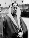تسجيل صوتي نادر للملك سعود وهو يلقي خطاباً أمام الجيش السعودي
