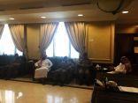 محافظ خيبر يلتقي مدراء الجهات الأمنية بالمحافظة ومناقشة الخطة الأمنية لشهر رمضان المبارك والإجازة الصيفية