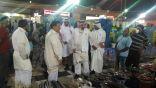 (سوق السمك) تحت مجهر فرع وزارة العمل والتنمية الاجتماعية بالمنطقة السرقية