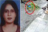 نخلة تسقط على مذيعة هندية أثناء سيرها في الشارع وتنهي حياتها