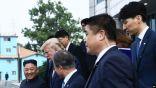 متحدثة البيت الأبيض تتعرض للإصابة نتيجة شجار بين حراس كيم والصحافيين