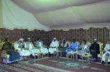 """وفد من جامعة طيبة يمثل 10 دول عربية يزور مهرجان """"ليالي شرقية"""""""