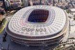 شاهد صور ملعب برشلونة في ثوبه الجديد