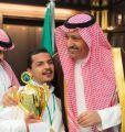 أمير الباحة يستقبل رئيس ولاعبي نادي الباحة لذوي الاحتياجات الخاصة
